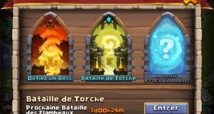 Batailles de torche