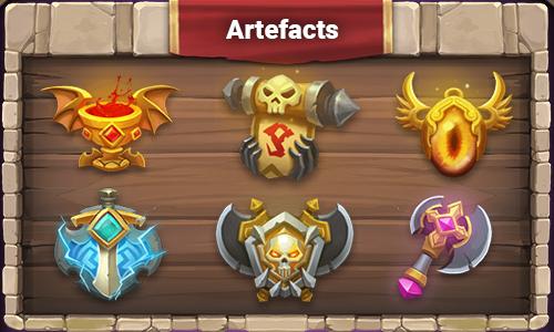artefacts-castle-clash