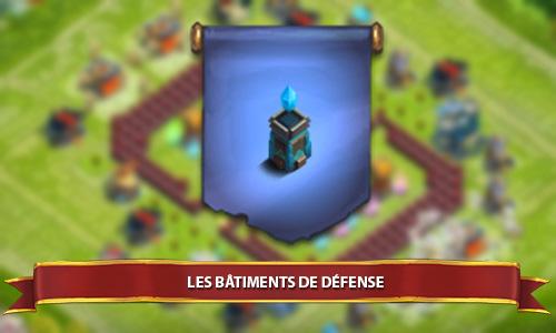 bâtiments de défense